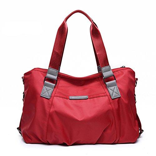 Yokeeyoo - Bolso mochila para mujer morado morado small Red