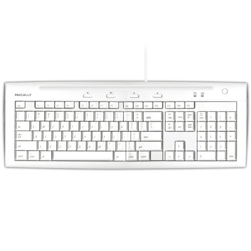 Macally iKeyslim Hi Speed Keyboard Ports
