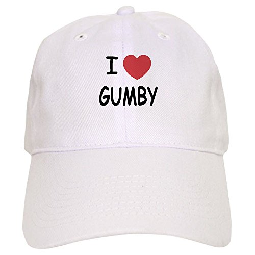 CafePress I Heart Gumby - Baseball Cap with Adjustable Closure, Unique Printed Baseball (Gumby Hat)