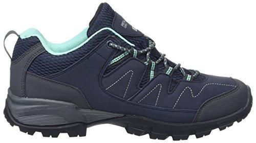 Blau amp; Wanderhalbschuhe Nvyblz Regatta Damen Trekking Icegr Low Holcombe Lady RSR4fq