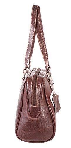 Oxbridge Satchel Shop, Borsa a zainetto donna marrone medium