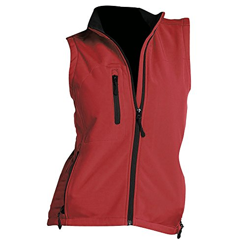 Giacca Donna Rosso Softshell Rallye Senza Maniche Sols 5RxXzqgw