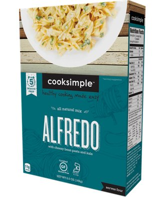 cooksimple-all-natural-mix-alfredo-with-cheesy-bean-pasta-and-kale-1-pack