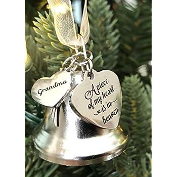 Amazon.com: K9King Grandma A Piece of My Heart Angel Bell ...