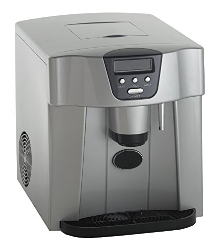 Avanti WIMD332PC-IS Portable Counter Top Ice Maker, Platinum