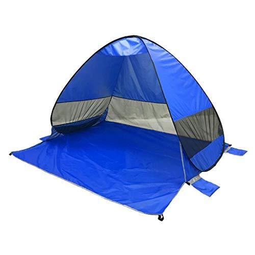 宿題控えめなミリメートルperfk キャンプ 自動ポップアップ ビーチ テント サンシェルター 抗UV キャノピー サンシェード 全10色