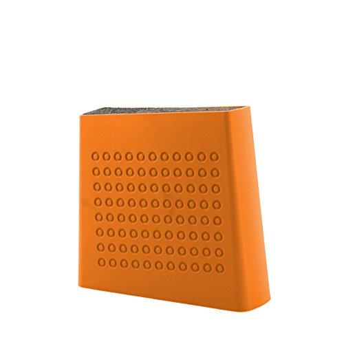 Kapoosh Urban Universal Knife Block- Tangerine Orange