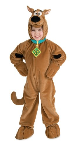 Daphne Halloween Costumes Scooby Doo (Scooby - Doo Child's Deluxe Scooby Costume, Medium)