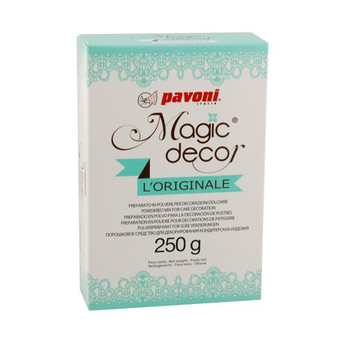 Tortenspitze Magic Decor Pulver 250 g von Pavoni Italia