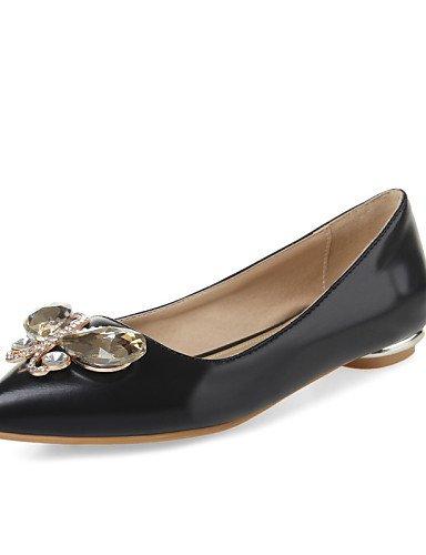 us8 zapatos uk6 oficina vestido red 5 5 Beige carrera Flats señaló negro y talón casual mujeres plano Toe las eu39 rojo PDX cn40 de U1dpUq
