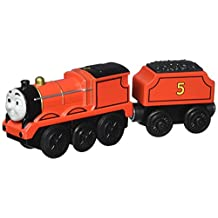 Fisher-Price Thomas Wooden Railway Battery-Operated James Engine