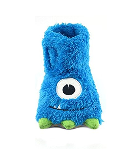 Juniper's Secret Claw Foot Slipper for Toddlers Blue Color (m 7-8) - Image 1