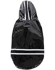 Pet Dog Raincoat Leisure Waterproof Lightweight Durable Dog Coat Jacket Pet Dog Accessories