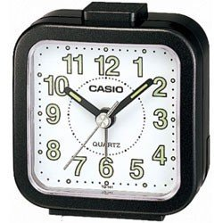 Casio- Beep Alarm Clock - Black (tq141-1)