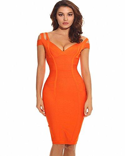 Kleider hochzeit orange
