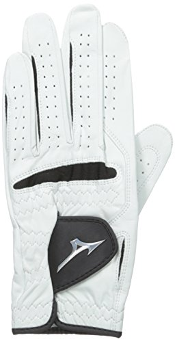 Mizuno Pro Glove, Left, White/Black, Medium/Large Cadet
