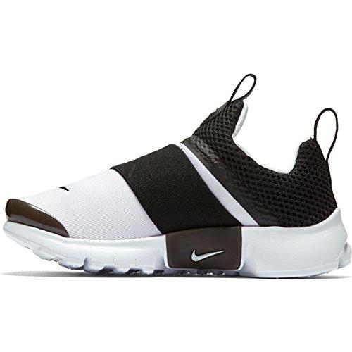 Nike Presto Extreme (PS) Pre School Boys Fashion Sneakers White/Black 870023-100 (1 M US) by Nike (Image #1)