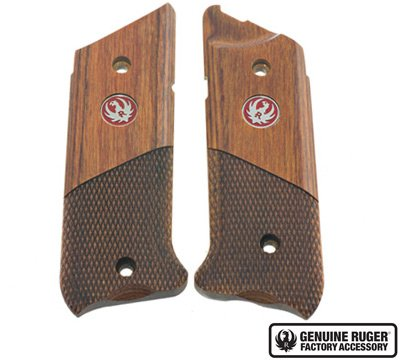 Ruger Mark IV Grips - Hunter Style - Half Chackered - 90609 by RUGER