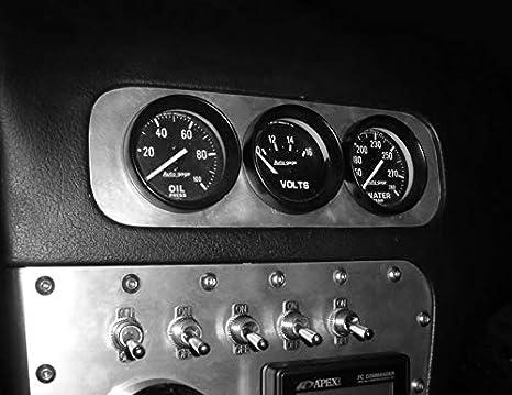 Black 200Sx T6 Billet Black Path 240Sx Pod Holder S13 Vent Bezel BlackPath Nissan 52mm 2 Triple Gauge Holder 180Sx