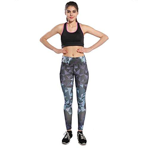 Yomsong Womens Cute 3D Digital Printed Leggings (S, (Cute Printed)