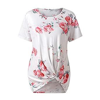 2019 Camiseta de Maternidad de Manga Corta Top, Camisa Blusa ...
