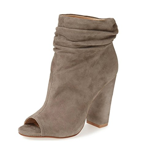 High Heel Slouch Ankle Boot - 8