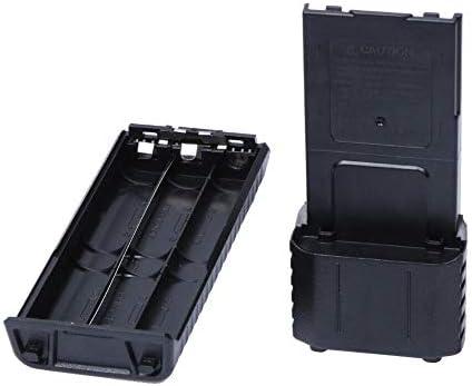 Caja de soporte Batería Sotrage Case 6AA Energía extendida DIY para Baofeng Radio BF-UV5R: Amazon.es: Bricolaje y herramientas