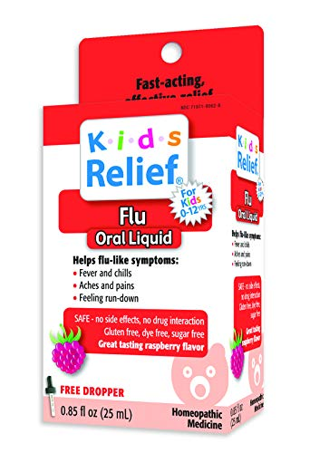 (Kids Relief Flu Oral Solution, 0.85 Ounce Bottle)