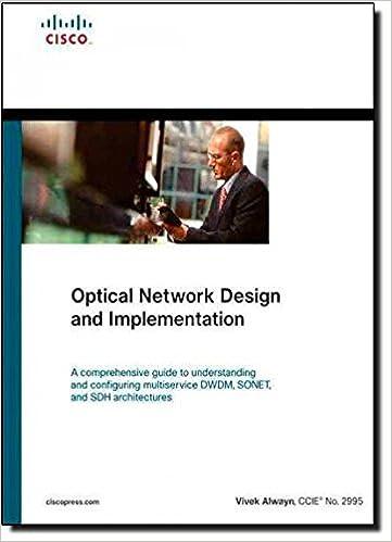 optical network design and implementation paperback