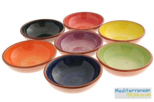 sc 1 st  Amazon UK & Mediterranean Colours Tapas Dish Set: Amazon.co.uk: Kitchen \u0026 Home