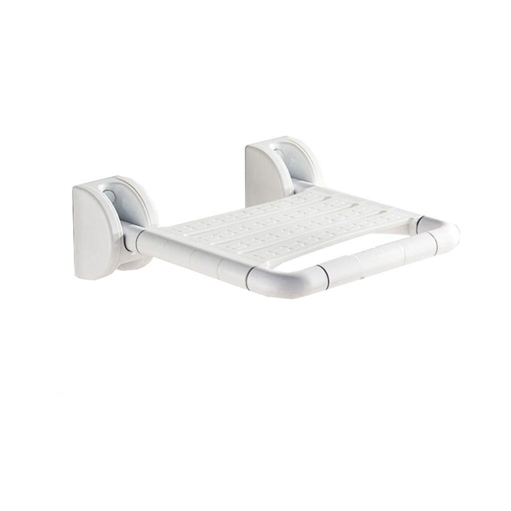 バスルーム折りたたみ式壁掛けシャワースツール障害高齢者セーフティーノンスリップバスルームトイレUpturned Chair (色 : 白, サイズ さいず : A) B07DFHKSFQ  白 A