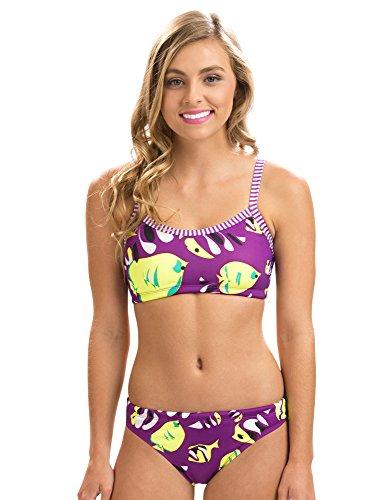 Dolfin Uglies 2-Piece Swimsuit | AMZ6504L (XL, Fish Tales) ()
