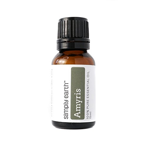 Price comparison product image Amyris Essential Oil - 15 ml,  100% Pure Therapeutic Grade by Simply Earth