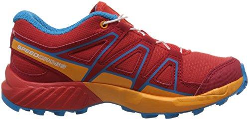 J Speedcross Running Trail Salomon De Zapatillas Unisex Rojo Niños 5Rdqxwxz