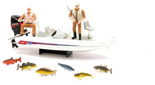 (Wild Hunting New Ray Boat Fishing Playset )