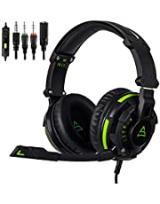 SUPSOO G828 Newest Version Gaming Headset Xbox One Headset Over-Ear Headphones with Mic Volume Control for PC, PS4, XboxOne