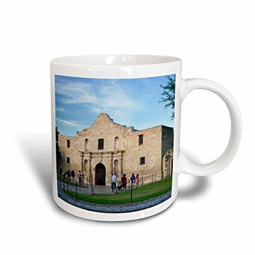 3dRose The Alamo, San Antonio, Texas, USA - Us44 Bjn0000 - Brian Jannsen - Ceramic Mug, 11-Ounce - Antonio San Outlets In Texas