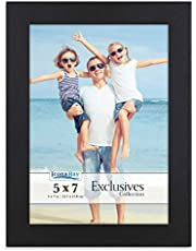 Icona Bay 5x7 Picture Frame (Black) 5x7 Frame Photos, Black Picture Frames 5x7, Exclusives Collection