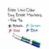 EXPO Low-Odor Dry Erase Set, Fine Point, Assorted
