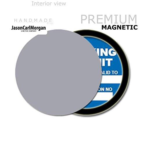 JCM Custom MOT License Tax Disc Permit Holders, Silver JasonCarlMorgan