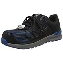 Skechers BULKLIN LYNDALE, Zapato Industrial Hombre, Azul, 45 EU