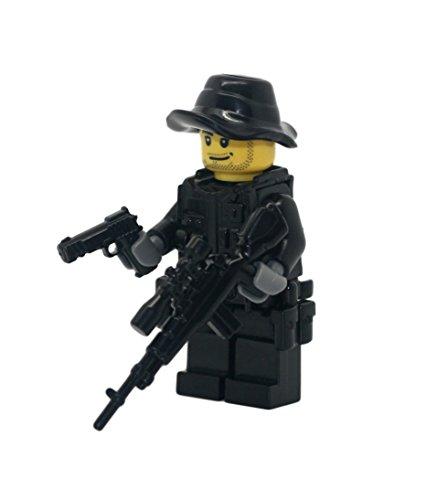 Modern Brick Warfare Special Forces Sniper Custom Minifigure