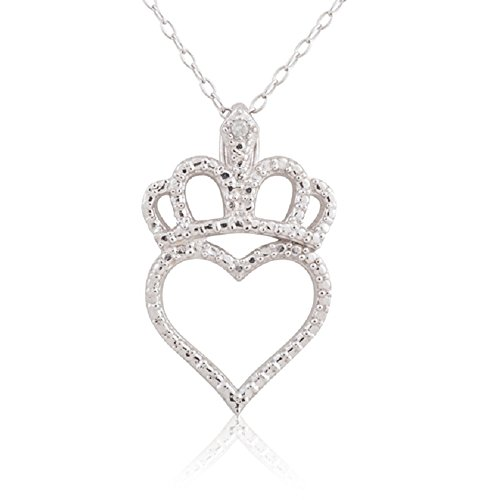 Diamond Accent Crown Necklace - 5