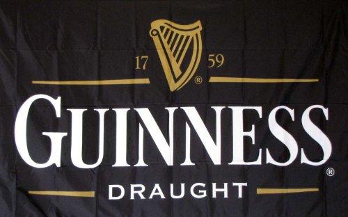 Guinness Traditional Flag