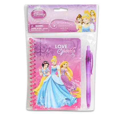 Disney Princess Stationery Set with Pen (60 Sheets)