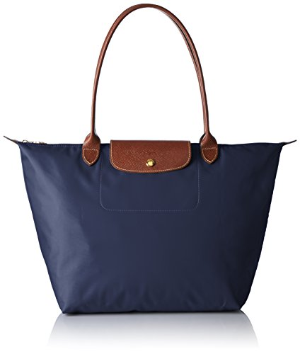 galleon longchamp le pliage longhandle totebag large navy. Black Bedroom Furniture Sets. Home Design Ideas