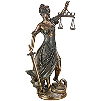 Design Toscano Goddess of Justice Themis Large Statue