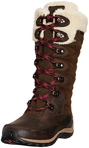 Timberland Willowood Ftp_Ek Willowood Wp Ins - Botas de nieve de cuero mujer Dark Brown
