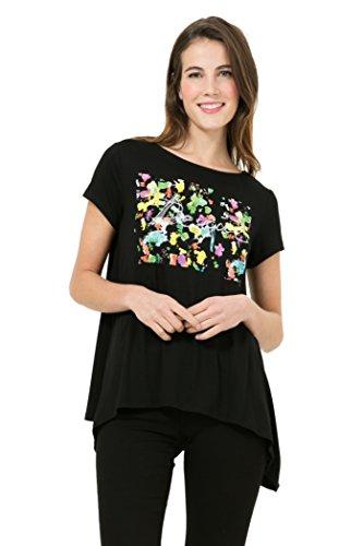 Tee-shirt Desigual Kenan Noir 61t26c4
