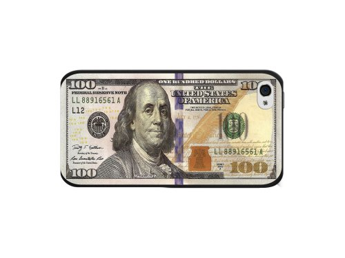 Cellet New One Hundred Dollar Bill Design Proguard Case for Apple iPhone 4/4s - (100 Dollar Iphone 4s)